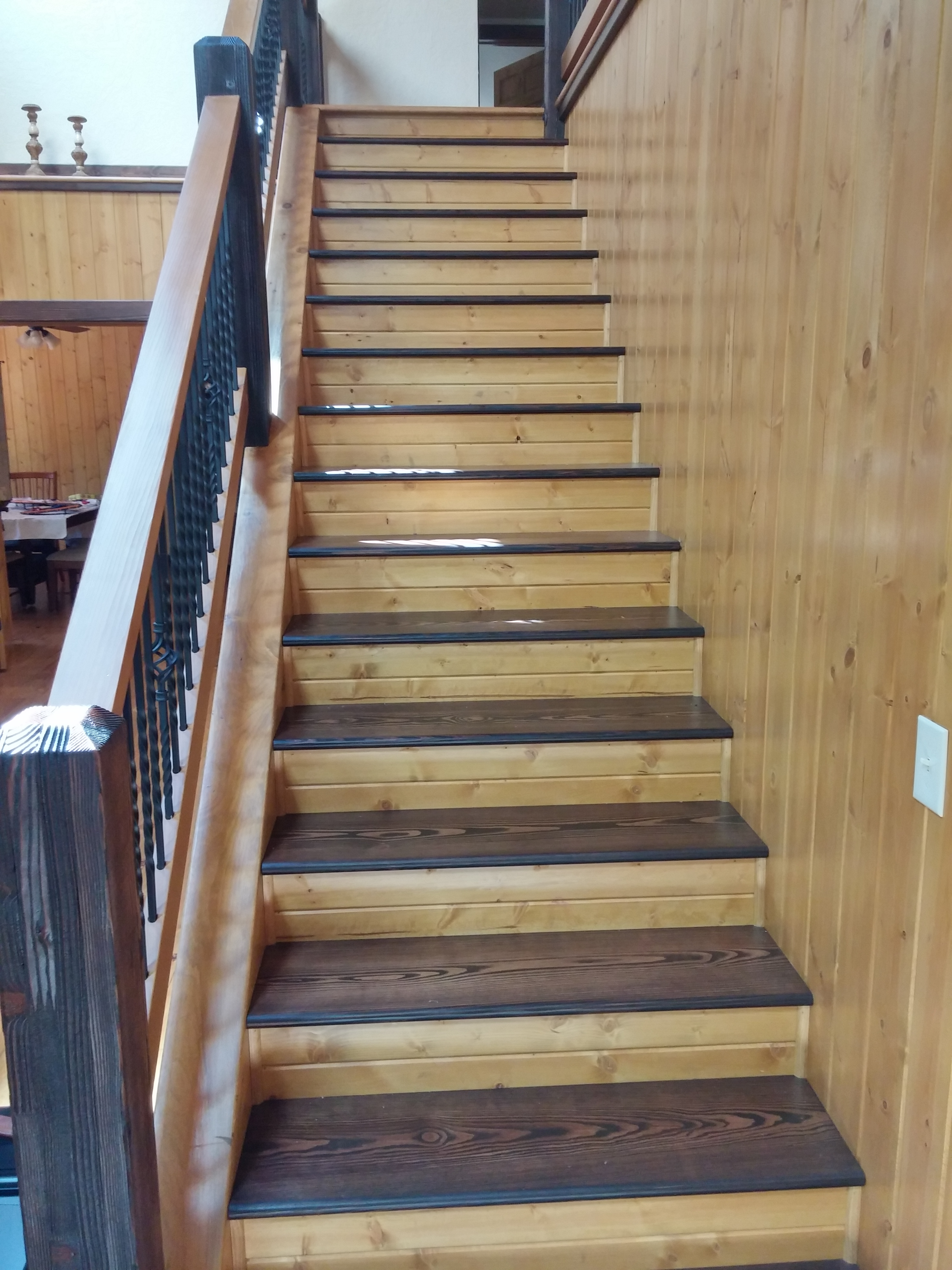 Do You Have A Beautiful Wood Staircase And Railings In Your Home? WoodTeks  LLC Specializes In Sanding And Refinishing Wooden Stairs And Railings.